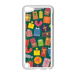Presents Gifts Background Colorful Apple Ipod Touch 5 Case (white) by Nexatart