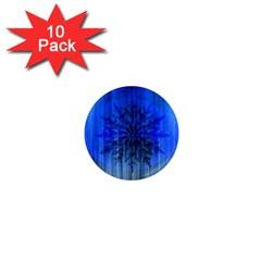 Background Christmas Star 1  Mini Magnet (10 Pack)  by Nexatart