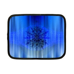 Background Christmas Star Netbook Case (small)  by Nexatart