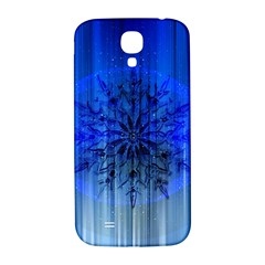 Background Christmas Star Samsung Galaxy S4 I9500/i9505  Hardshell Back Case