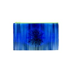 Background Christmas Star Cosmetic Bag (xs) by Nexatart