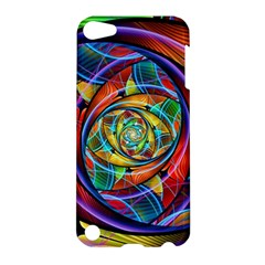 Eye Of The Rainbow Apple Ipod Touch 5 Hardshell Case by WolfepawFractals