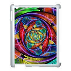 Eye Of The Rainbow Apple Ipad 3/4 Case (white) by WolfepawFractals