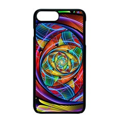Eye Of The Rainbow Apple Iphone 7 Plus Seamless Case (black) by WolfepawFractals
