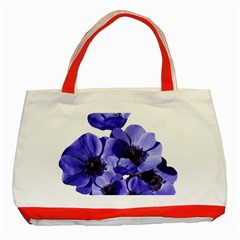 Poppy Blossom Bloom Summer Classic Tote Bag (red) by Nexatart
