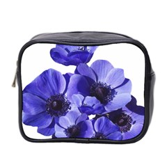 Poppy Blossom Bloom Summer Mini Toiletries Bag 2 Side by Nexatart