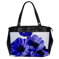 Poppy Blossom Bloom Summer Office Handbags by Nexatart