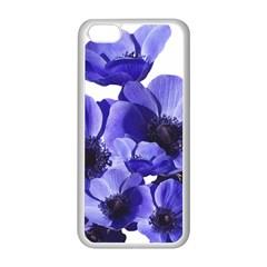 Poppy Blossom Bloom Summer Apple Iphone 5c Seamless Case (white) by Nexatart