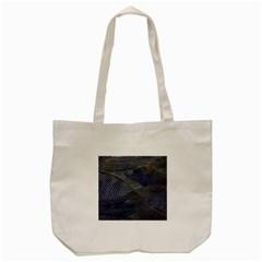 Textures Sea Blue Water Ocean Tote Bag (cream) by Nexatart
