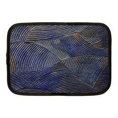 Textures Sea Blue Water Ocean Netbook Case (medium)  by Nexatart