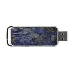 Textures Sea Blue Water Ocean Portable Usb Flash (two Sides) by Nexatart