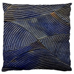 Textures Sea Blue Water Ocean Large Flano Cushion Case (one Side) by Nexatart