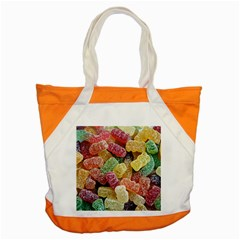 Jelly Beans Candy Sour Sweet Accent Tote Bag by Nexatart