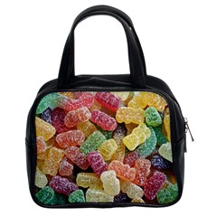 Jelly Beans Candy Sour Sweet Classic Handbags (2 Sides)