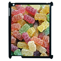 Jelly Beans Candy Sour Sweet Apple Ipad 2 Case (black) by Nexatart