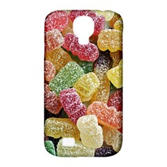 Jelly Beans Candy Sour Sweet Samsung Galaxy S4 Classic Hardshell Case (pc+silicone) by Nexatart