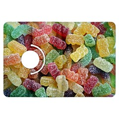 Jelly Beans Candy Sour Sweet Kindle Fire Hdx Flip 360 Case by Nexatart