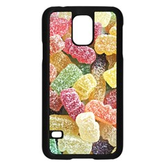 Jelly Beans Candy Sour Sweet Samsung Galaxy S5 Case (black) by Nexatart