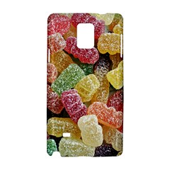 Jelly Beans Candy Sour Sweet Samsung Galaxy Note 4 Hardshell Case by Nexatart