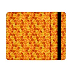 Honeycomb Pattern Honey Background Samsung Galaxy Tab Pro 8 4  Flip Case by Nexatart