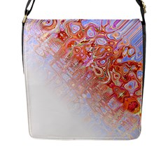 Effect Isolated Graphic Flap Messenger Bag (l)  by Nexatart