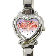 Effect Isolated Graphic Heart Italian Charm Watch by Nexatart