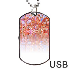 Effect Isolated Graphic Dog Tag Usb Flash (one Side) by Nexatart