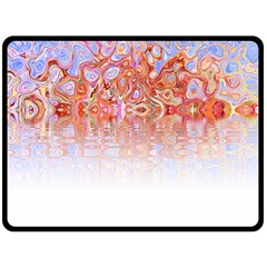 Effect Isolated Graphic Double Sided Fleece Blanket (large)  by Nexatart