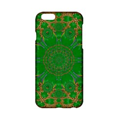 Summer Landscape In Green And Gold Apple Iphone 6/6s Hardshell Case by pepitasart