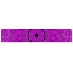 Purple Mandala Fashion Flano Scarf (large) by pepitasart