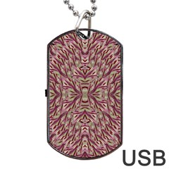 Mandala Art Paintings Collage Dog Tag Usb Flash (two Sides) by pepitasart