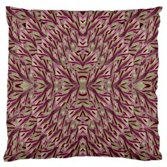 Mandala Art Paintings Collage Large Flano Cushion Case (one Side) by pepitasart