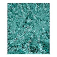Melting Swirl D Shower Curtain 60  X 72  (medium)  by MoreColorsinLife