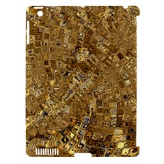 Melting Swirl E Apple Ipad 3/4 Hardshell Case (compatible With Smart Cover) by MoreColorsinLife