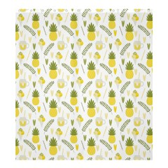 Pineapple Fruit And Juice Patterns Shower Curtain 66  X 72  (large)  by TastefulDesigns