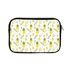 Pineapple Fruit And Juice Patterns Apple Ipad Mini Zipper Cases by TastefulDesigns