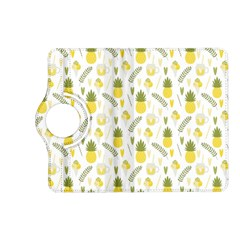 Pineapple Fruit And Juice Patterns Kindle Fire Hd (2013) Flip 360 Case by TastefulDesigns