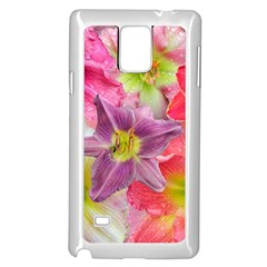 Wonderful Floral 22a Samsung Galaxy Note 4 Case (white) by MoreColorsinLife
