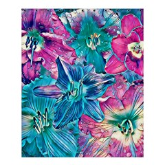 Wonderful Floral 22b Shower Curtain 60  X 72  (medium)  by MoreColorsinLife