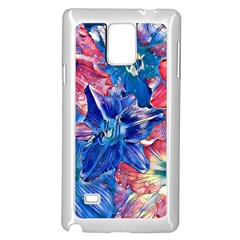 Wonderful Floral 22c Samsung Galaxy Note 4 Case (white) by MoreColorsinLife