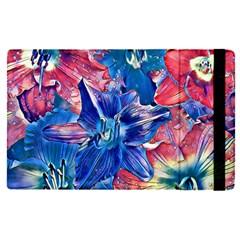 Wonderful Floral 22c Apple Ipad Pro 9 7   Flip Case by MoreColorsinLife
