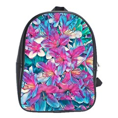 Wonderful Floral 25a School Bags (xl)  by MoreColorsinLife
