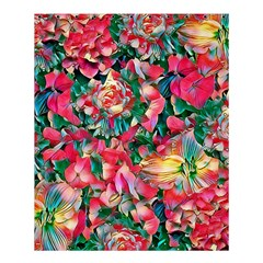 Wonderful Floral 24b Shower Curtain 60  X 72  (medium)  by MoreColorsinLife