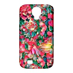 Wonderful Floral 24b Samsung Galaxy S4 Classic Hardshell Case (pc+silicone) by MoreColorsinLife