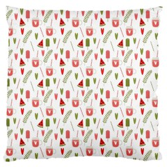 Watermelon Fruit Paterns Standard Flano Cushion Case (two Sides)