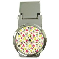 Summer Fruits Pattern Money Clip Watches by TastefulDesigns