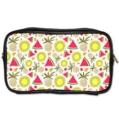 Summer Fruits Pattern Toiletries Bags by TastefulDesigns