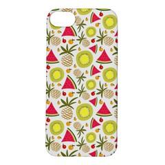 Summer Fruits Pattern Apple Iphone 5s/ Se Hardshell Case by TastefulDesigns