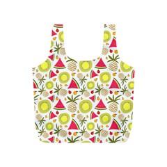 Summer Fruits Pattern Full Print Recycle Bags (s)  by TastefulDesigns