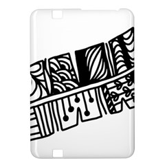 Feather Zentangle Kindle Fire Hd 8 9  by CraftyLittleNodes